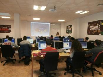 fotografía aula formación Cad-Cam Usuarios